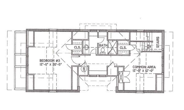 Mediterranean Floor Plan - Other Floor Plan #536-6