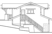 Craftsman Style House Plan - 0 Beds 1 Baths 575 Sq/Ft Plan #124-650 Exterior - Rear Elevation