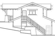 Home Plan - Craftsman Exterior - Rear Elevation Plan #124-650