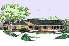 Traditional Exterior - Front Elevation Plan #60-451