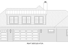 Traditional Exterior - Other Elevation Plan #932-167