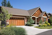 Craftsman Style House Plan - 3 Beds 2 Baths 1800 Sq/Ft Plan #48-414 Exterior - Front Elevation