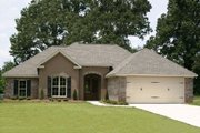 Traditional Style House Plan - 4 Beds 2 Baths 1750 Sq/Ft Plan #430-69 Exterior - Front Elevation