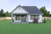 Craftsman Style House Plan - 3 Beds 2 Baths 1611 Sq/Ft Plan #1070-89 Photo