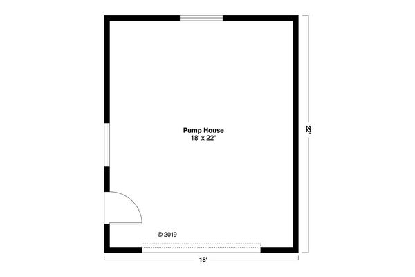 Country Floor Plan - Main Floor Plan Plan #124-1179