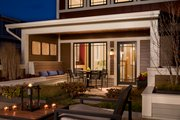 Craftsman Style House Plan - 3 Beds 3 Baths 2460 Sq/Ft Plan #454-12 Exterior - Outdoor Living