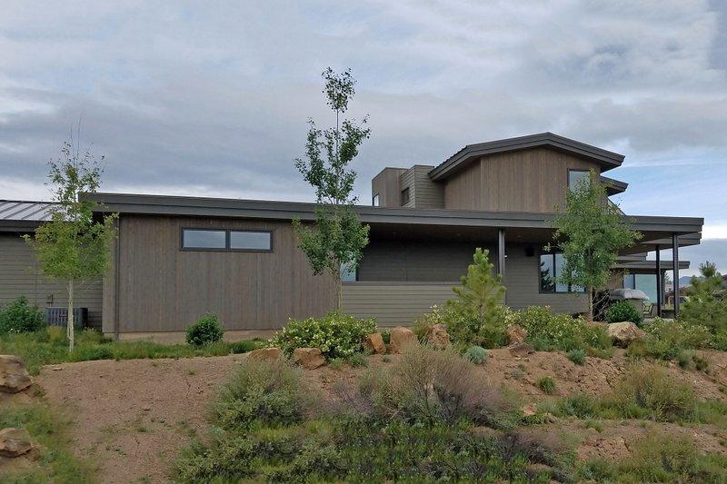 Contemporary Exterior - Other Elevation Plan #892-15 - Houseplans.com