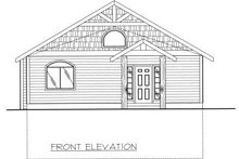 Home Plan - Traditional Exterior - Other Elevation Plan #117-557