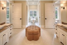Architectural House Design - Country Interior - Master Bathroom Plan #928-1