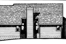 Traditional Exterior - Rear Elevation Plan #20-149