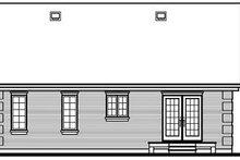 Dream House Plan - European Exterior - Rear Elevation Plan #23-694