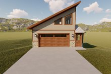 House Plan Design - Modern Exterior - Front Elevation Plan #1060-72