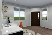 House Plan Design - Ranch Interior - Entry Plan #1060-40