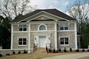 Colonial Exterior - Front Elevation Plan #119-101