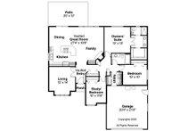 Traditional Floor Plan - Main Floor Plan Plan #124-376