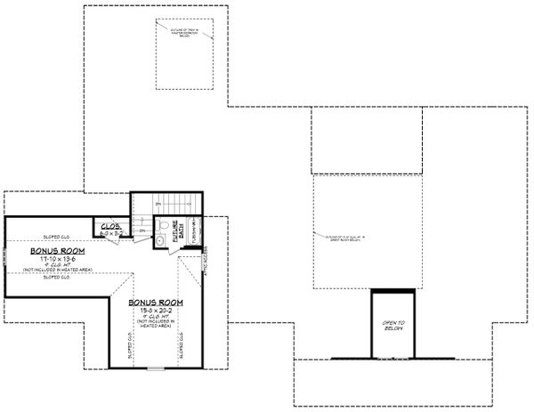 Farmhouse Floor Plan - Other Floor Plan Plan #430-205