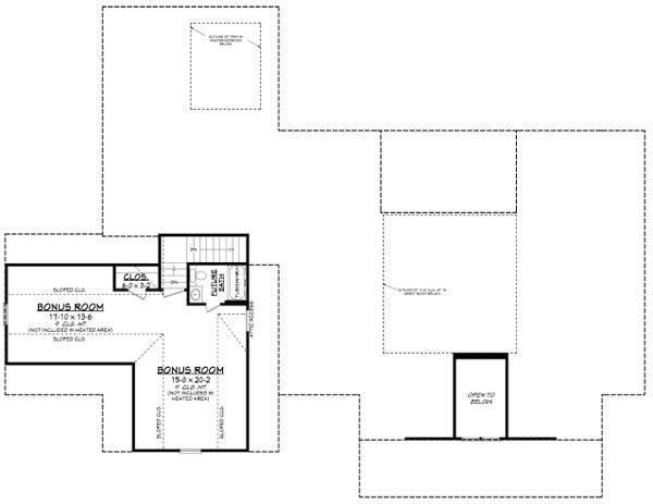 Dream House Plan - Farmhouse Floor Plan - Other Floor Plan #430-205