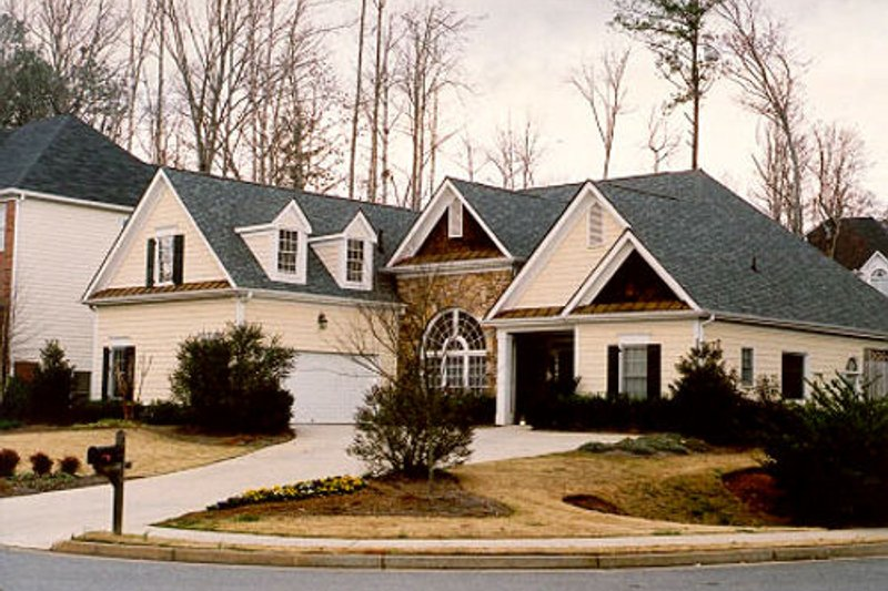 Traditional Exterior - Other Elevation Plan #419-105 - Houseplans.com