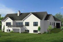 Architectural House Design - Craftsman Exterior - Front Elevation Plan #1057-18