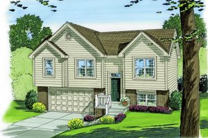 Traditional Exterior - Front Elevation Plan #455-145