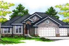 Dream House Plan - Ranch Exterior - Front Elevation Plan #70-688