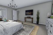 Traditional Style House Plan - 3 Beds 2.5 Baths 2176 Sq/Ft Plan #1060-37 Interior - Master Bedroom