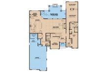 European Floor Plan - Main Floor Plan Plan #923-31