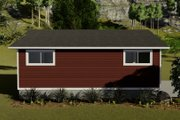 Traditional Style House Plan - 0 Beds 0 Baths 782 Sq/Ft Plan #1060-92