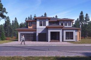 House Design - Modern Exterior - Front Elevation Plan #1066-11