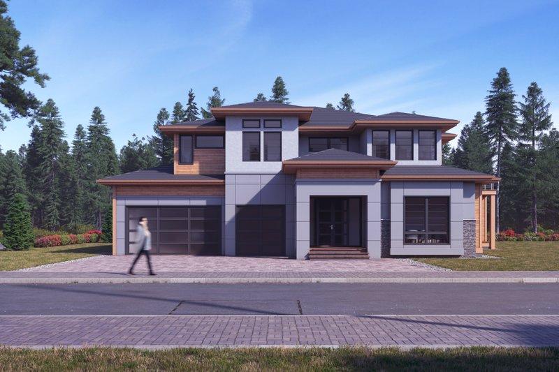Dream House Plan - Modern Exterior - Front Elevation Plan #1066-11