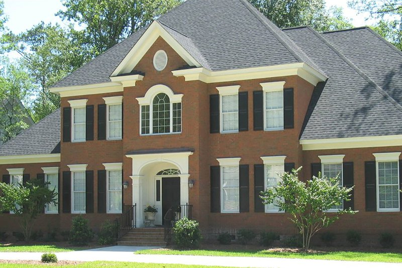 Home Plan - Classical Exterior - Front Elevation Plan #1054-63