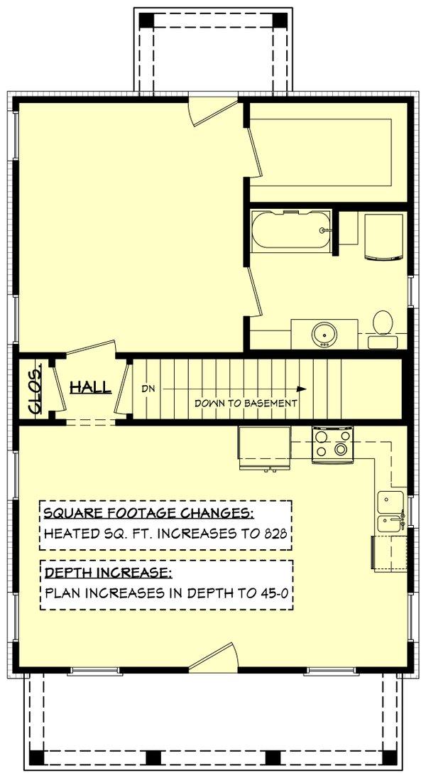 Dream House Plan - Farmhouse Floor Plan - Other Floor Plan #430-257