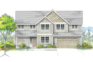 Craftsman Exterior - Front Elevation Plan #53-627