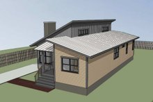 Modern Exterior - Other Elevation Plan #79-292
