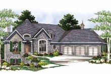 Dream House Plan - European Exterior - Front Elevation Plan #70-781