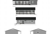 Architectural House Design - Country Exterior - Other Elevation Plan #1077-1