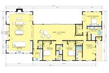 Ranch Floor Plan - Main Floor Plan Plan #888-18