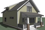 Craftsman Style House Plan - 3 Beds 2.5 Baths 1783 Sq/Ft Plan #461-24 Photo
