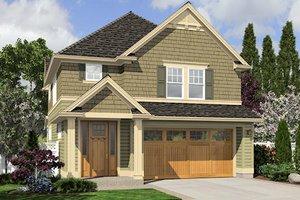 Craftsman Exterior - Front Elevation Plan #48-498