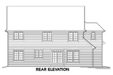 Dream House Plan - Traditional Exterior - Rear Elevation Plan #48-330