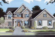 Traditional Exterior - Front Elevation Plan #46-110