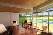 Modern Style House Plan - 3 Beds 2 Baths 2587 Sq/Ft Plan #438-1 Photo