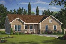 House Plan Design - Ranch Exterior - Front Elevation Plan #20-2291