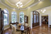 European Style House Plan - 4 Beds 3 Baths 2812 Sq/Ft Plan #929-877 Interior - Dining Room