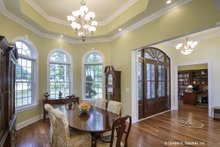 Architectural House Design - European Interior - Dining Room Plan #929-877