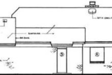 Home Plan - Traditional Exterior - Rear Elevation Plan #45-228