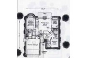 Colonial Style House Plan - 3 Beds 2 Baths 1802 Sq/Ft Plan #310-763 Floor Plan - Main Floor