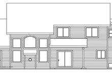 Dream House Plan - Craftsman Exterior - Rear Elevation Plan #124-759