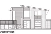 Modern Style House Plan - 3 Beds 2 Baths 2554 Sq/Ft Plan #496-20 Photo