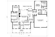 Farmhouse Style House Plan - 4 Beds 2.5 Baths 2278 Sq/Ft Plan #137-266 Floor Plan - Main Floor Plan